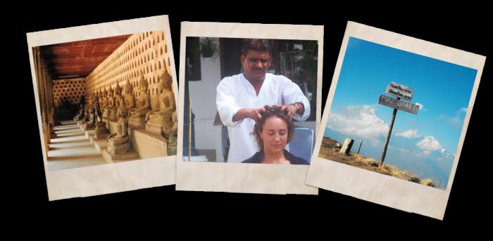 About my travels Heath & Wellbeing Indian Head Massage